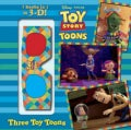 Three Toy Toons: 3 Books in 1 in 3-d (Hardcover)