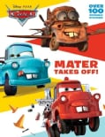 Mater Takes Off! Deluxe Reusable Sticker Book (Paperback)