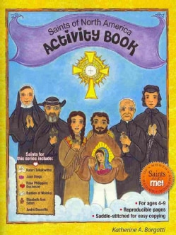 Saints of North America Activity Book (Paperback)