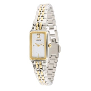Citizen Women's Two-tone Steel Eco-Drive Watch