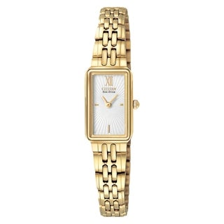 Citizen Women's Goldtone Steel Eco-Drive Watch