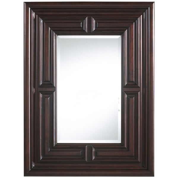 Marcella Old World Finish Rectangular Mirror