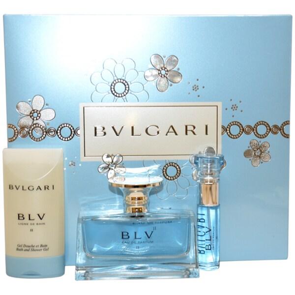 Bvlgari 'BLV II' Women's 3-piece Fragrance Gift Set