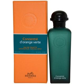 Hermes Concentre DOrange Verte 3.3-ounce Eau de Toilette Concentre Spray