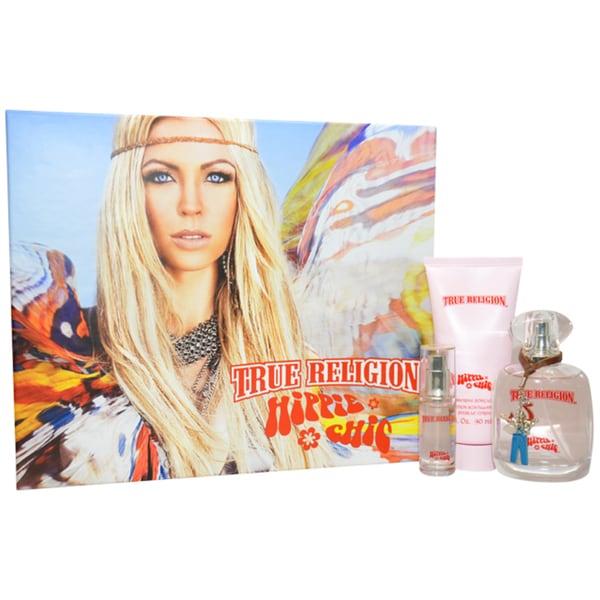 True Religion Brand Jeans 'Hippie Chic ' Women's 3-piece Fragrance Gift Set