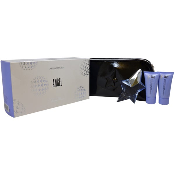 Angel by Thierry Mugler for Women 4-piece Gift Set