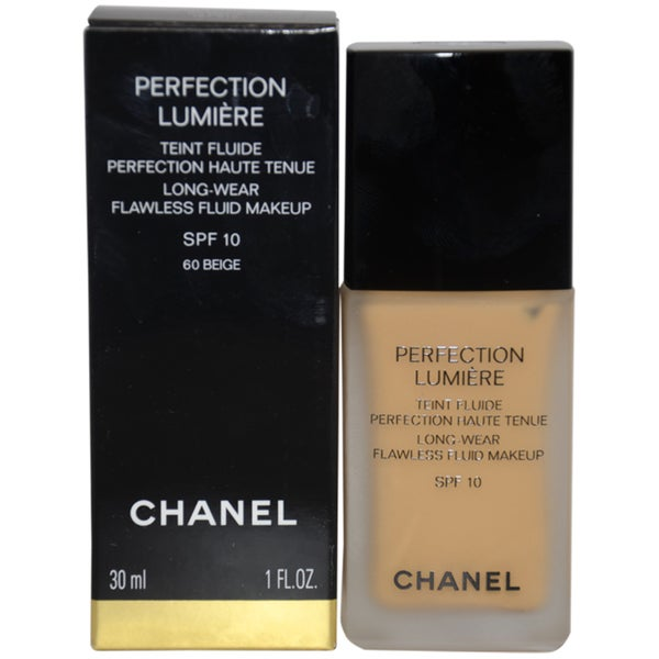 Chanel Perfection Lumiere 60 Beige Flawless Fluid Makeup