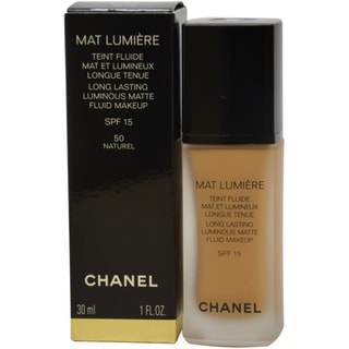 Chanel Mat Lumiere 'Naturel' Long Lasting Luminous Matte Fluid