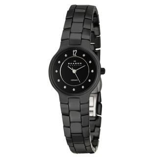 Skagen Women's 'Ceramic' Crystal Watch