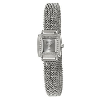 Skagen Women's Stainless-Steel Crystal Designer Watch