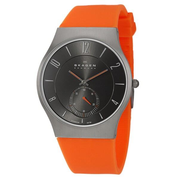 Skagen Men's Titanium Quartz Watch