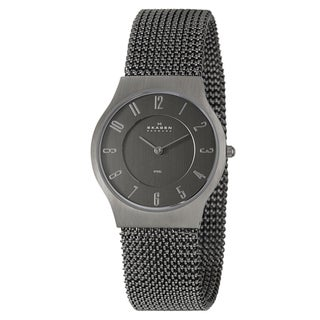 Skagen Men's Stainless Steel Mesh Quartz Watch