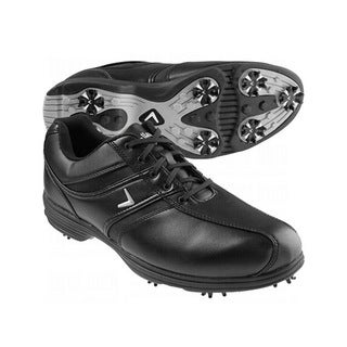 Callaway Men's Chev Comfort Saddle Black Golf Shoes