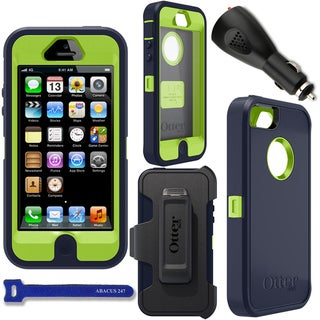 Otterbox Defender Apple iPhone 5 Case with Car Charger