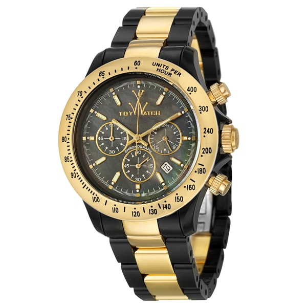 ToyWatch Men's Stainless Steel and Plastic 'Plasteramic' Watch