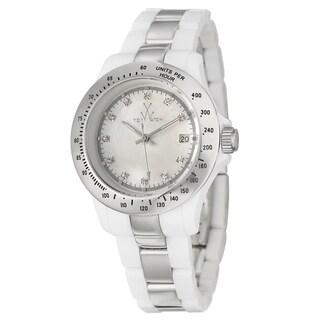 ToyWatch Women's Stainless Steel 'Plasteramic' Watch
