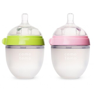 Comotomo Natural Feel 5-ounce Baby Bottles (Set of 2)