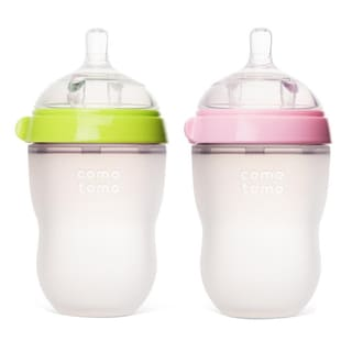 Comotomo Natural Feel 8-ounce Baby Bottles (Set of 2)