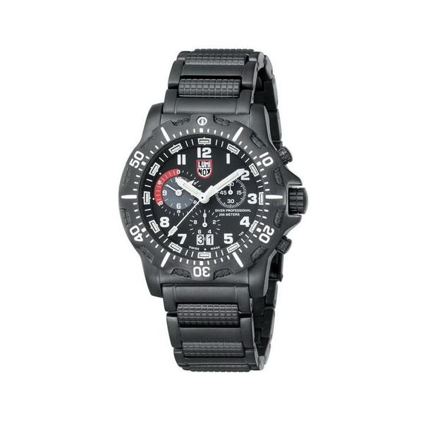 Luminox Men's Stainless Steel Diver Chronograph Watch
