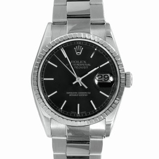 Pre-Owned Rolex Men's Stainless-Steel Round Datejust Watch