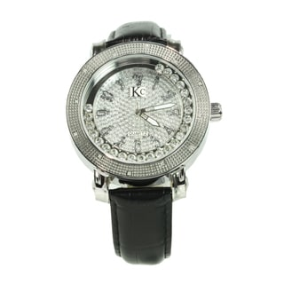 Techno KC Men's Black Stainless Steel Watch
