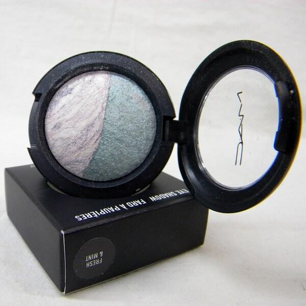 MAC Mineralize Fresh & Mint Eye Shadow Duo