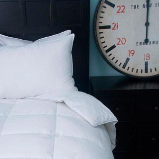 Silky Soft Cotton Sateen Down Alternative Comforter
