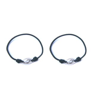 NFL Philadelphia Eagles Stretch Bracelet/Hair Tie Set