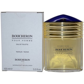Boucheron Pour Homme Men's 3.3-ounce Eau de Toilette Spray (Tester)