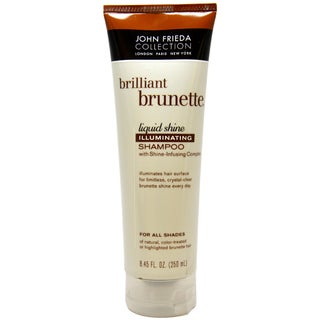 John Frieda Brilliant Brunette Illuminating 8.45-ounce Shampoo