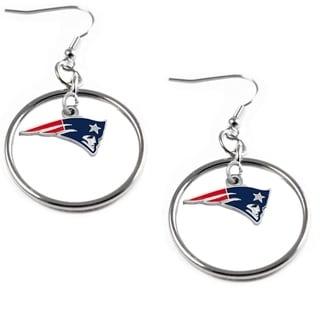 NFL Logo Hoop Earring Charm Set