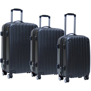 CalPak Ashley 3-piece Expandable Hardsided Luggage Set