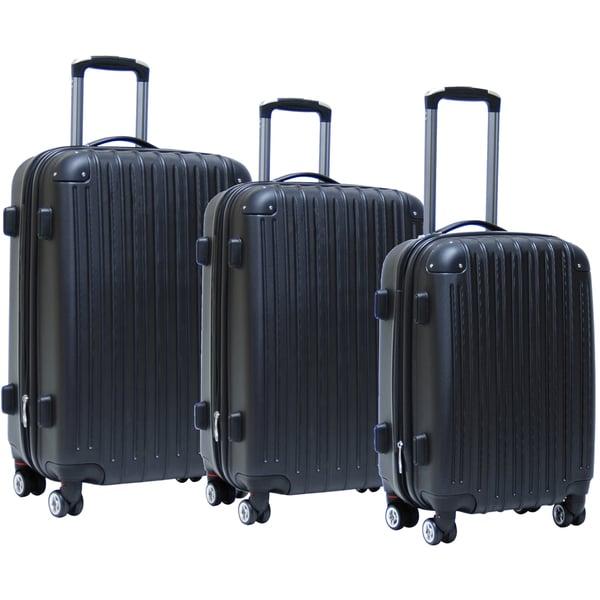 CalPak Ashley 3-piece Expandable Hardsided Luggage Set