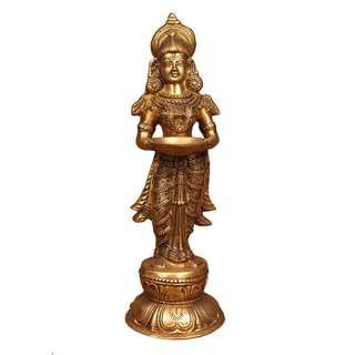 Deep Laxmi Brass Statue (India)