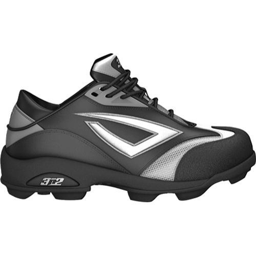 Women's 3N2 Accelerate Fastpitch Molded Black/Silver