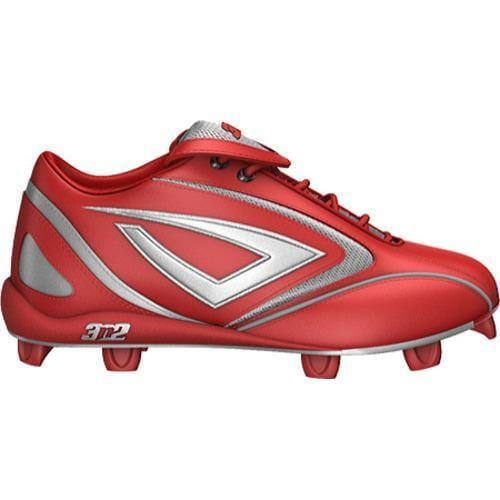 Men's 3N2 HAMR Low Red/Silver