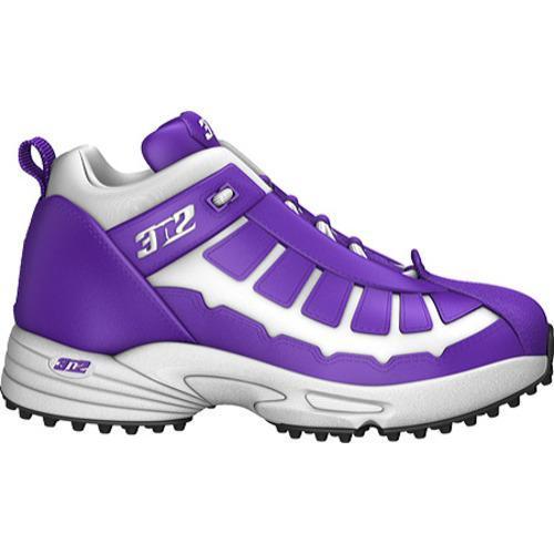 Men's 3N2 Pro Turf Trainer Mid Purple/White