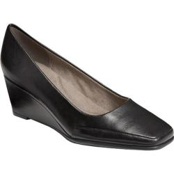 Women's Aerosoles Barecuda Black PU