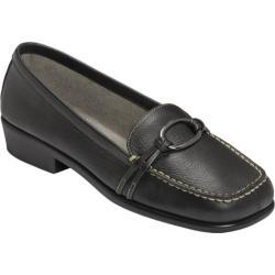 Women's Aerosoles Dubious Black Pebbled Leather