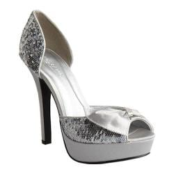Women's Allure Bridals Starlight Silver Synthetic