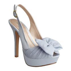 Women's Allure Bridals Sunrise Blue Silk Satin