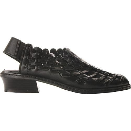 Women's Annie Lexi Black Leather
