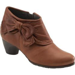 Women's Antia Shoes Abby Cognac Leather