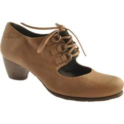 Women's Antia Shoes Adele Dark Taupe Leather