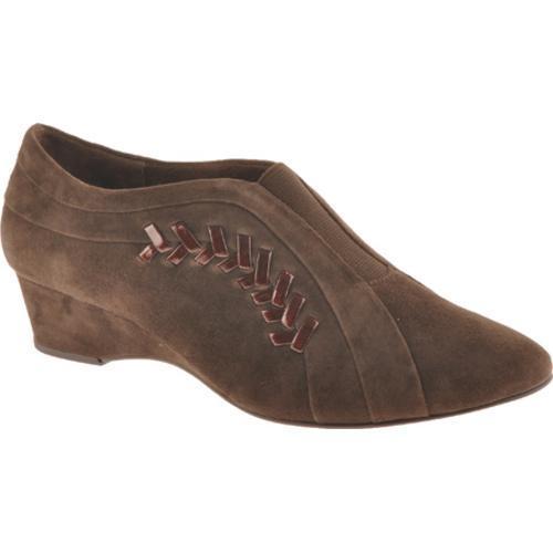 Women's Antia Shoes Cheryl Mocha Kid Suede/Patent
