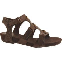 Women's Antia Shoes Cynthia Mocha Full Grain Waxy Light Leather