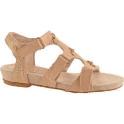 Women's Antia Shoes Cynthia Sand Full Grain Waxy Light Leather