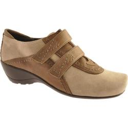 Women's Antia Shoes Edith Dark Taupe Leather/Suede
