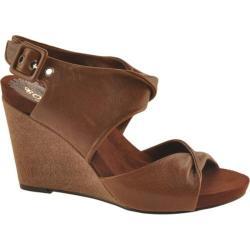 Women's Antia Shoes Geneva Mocha Full Grain Waxy Light Leather