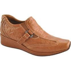 Women's Antia Shoes Gili Cognac Veg Crunch Full Grain Leather/Cognac Gore